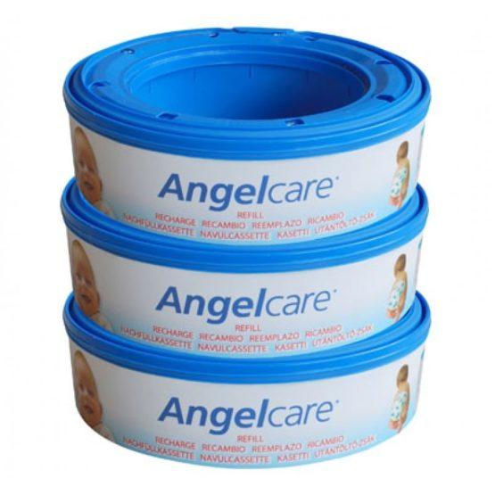 Angelcare Refills 3 Pack – Ανταλλακτική Κασέτα 3 Τεμ.