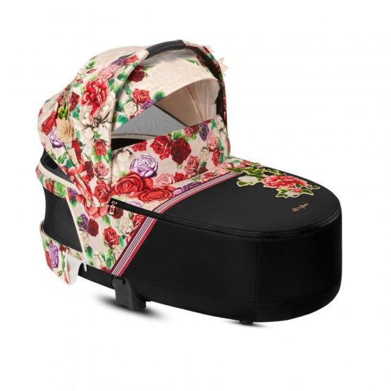 10375 3 PRIAM Lux Carry Cot Spring Blossom Light.w812