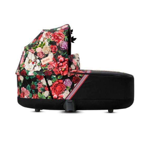 Cybex Πορτ Μπεμπέ PRIAM / e-PRIAM Lux Carry Cot Spring Blossom Dark
