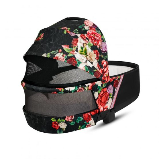 10376 4 PRIAM Lux Carry Cot Spring Blossom Dark.w812