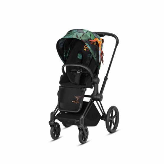 "Cybex Καρότσι e-PRIAM Frame Chrome – Seat Birds of Paradise <span class=""soon"">(Coming Soon)</span>"