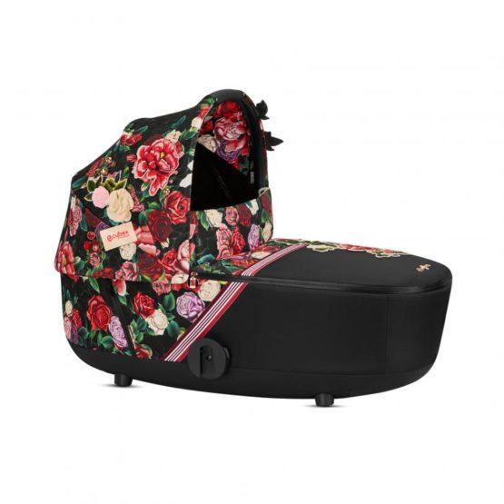 Cybex Πορτ Μπεμπέ MIOS Lux Carry Cot Spring Blossom Dark