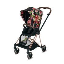 Cybex Mios Pushchair Spring Blossom Dark Rose Gold