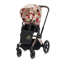 Cybex Priam Pushchair Spring Blossom Light Rose GOld D49356c0 7d8f 465c 9a58 1a78bd151e24