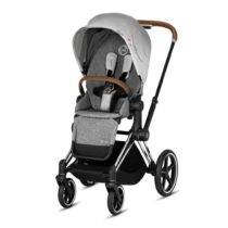 Cybex Priam Pushchair Koi Chrome Brown Ba8b8a64 1318 4f63 Ad0b 377de37fc705