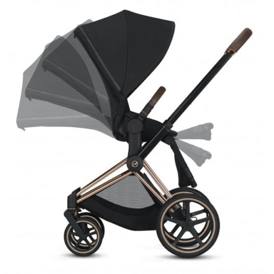 Cybex Priam Stroller Seat Pack 2019 Rose Gold Premium Black P2388 18943 Medium