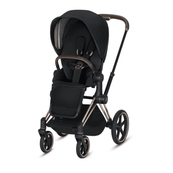 "Cybex Καρότσι e-PRIAM Frame Rosegold – Seat Premium Black <span class=""soon"">(Coming Soon)</span>"