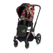 Cybex Καρότσι PRIAM Frame Rosegold – Seat Spring Blossom Dark