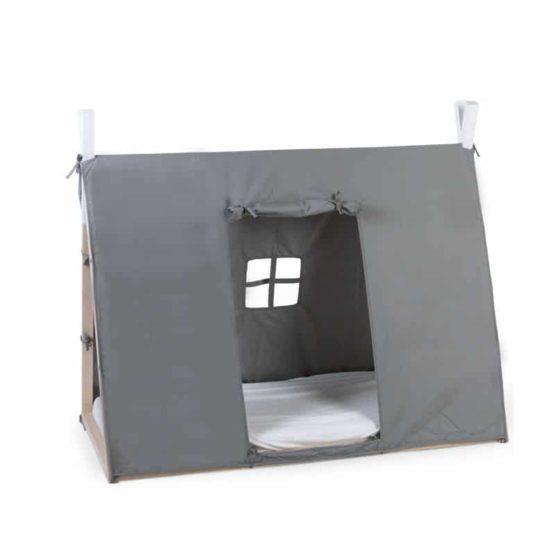 CHILDHOME Κάλυμμα Childhome Grey Για TIPI Bed 70*140 cm