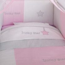 Baby Oliver Σετ Σεντόνια 3 Τεμ Lucky Star Pink des.308