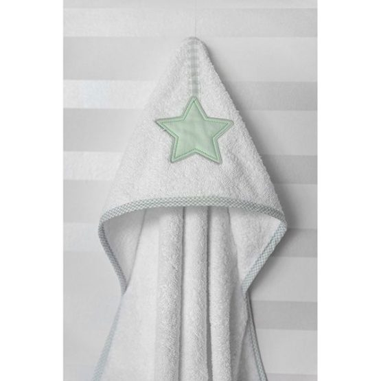 Baby Oliver Μπουρνούζι Κάπα Lucky Star Mint Des.304