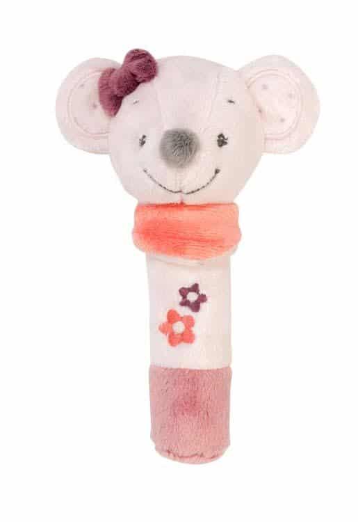Nattou ADELE & VALENTINE. Υφασμάτινο ποντικάκι με ήχο Valentine