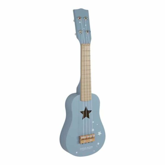 LITTLE DUTCH. Ξύλινη κιθάρα Adventure Blue