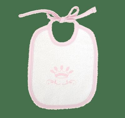 Baby Oliver Σαλιάρα 20×25 cm Little Princess des.322