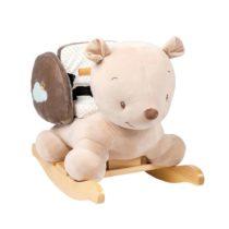 Nattou MIA & BASILE. Κουνιστό αρκουδάκι Basile