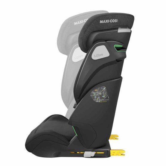 8740671110 2019 Maxicosi Carseat Toddlercarseat Koreisize Black Authenticblack Adjustperfectlytotheback Side Copy