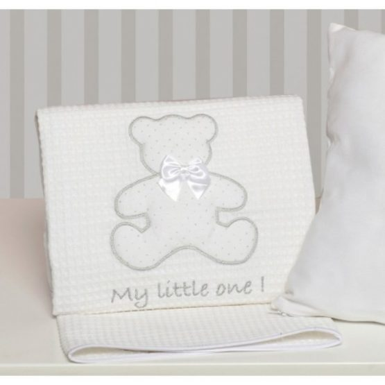 Baby Oliver Κουβέρτα Πικέ 100×140 My Little One des.330