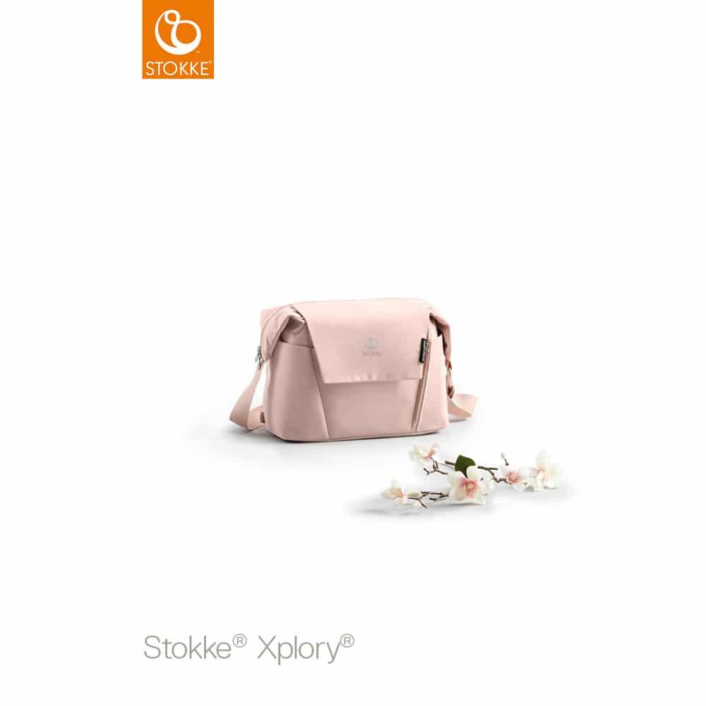Stokke® Xplory® Balance Τσάντα αλλαξιέρα Limited Edition Pink
