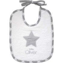 Baby Oliver Σαλιάρα 20x25 cm My little superstar des.301