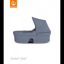 Stokke Beat Πορτ Μπεμπε Blue Melange (χωρίς κουκούλα)