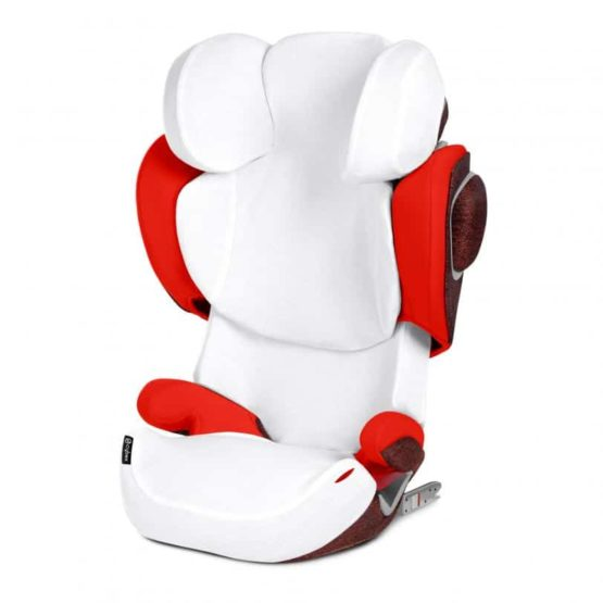 Cybex SOLUTION Z-FIX Summer Cover καλοκαιρινό κάλυμμα White