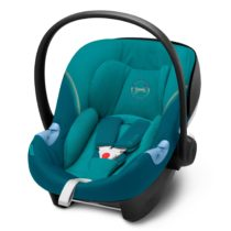 Cybex Aton M i-Size with Sensorsafe River Blue