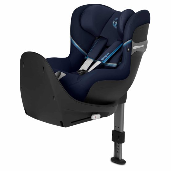 "Cybex Sirona S i-size Navy Blue ""Gold Edition"""