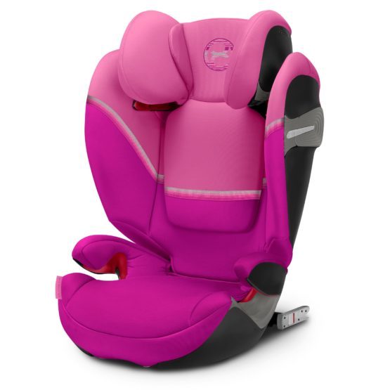"""Cybex Solution S Fix Magnolia Pink """"Gold Edition"""""""