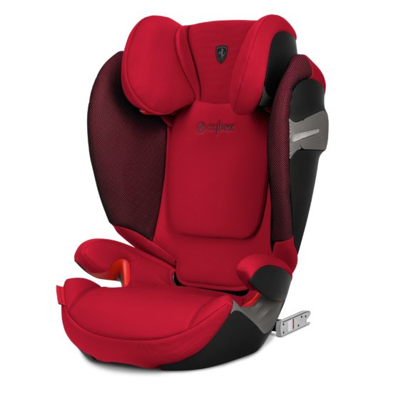 "Cybex Solution S Fix Scuderia Ferrari Racing Red ""Gold Edition"""