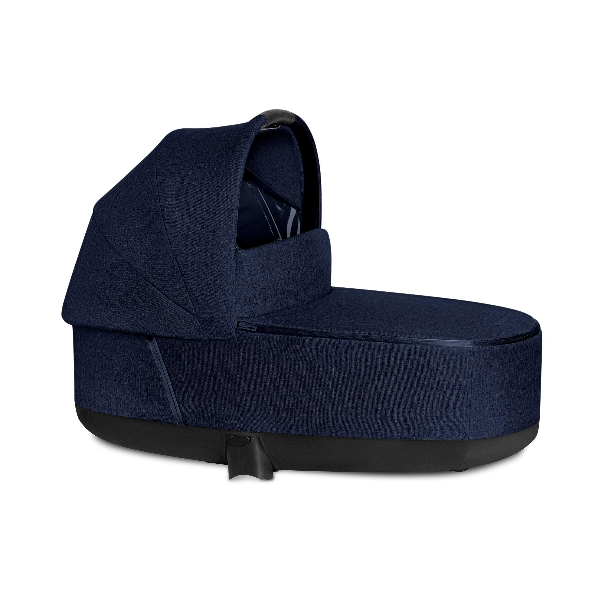 "Cybex Πορτ Μπεμπέ Priam / e-PRIAM PLUS Lux Carry Cot Midnight Blue ""Platinum Collection"""