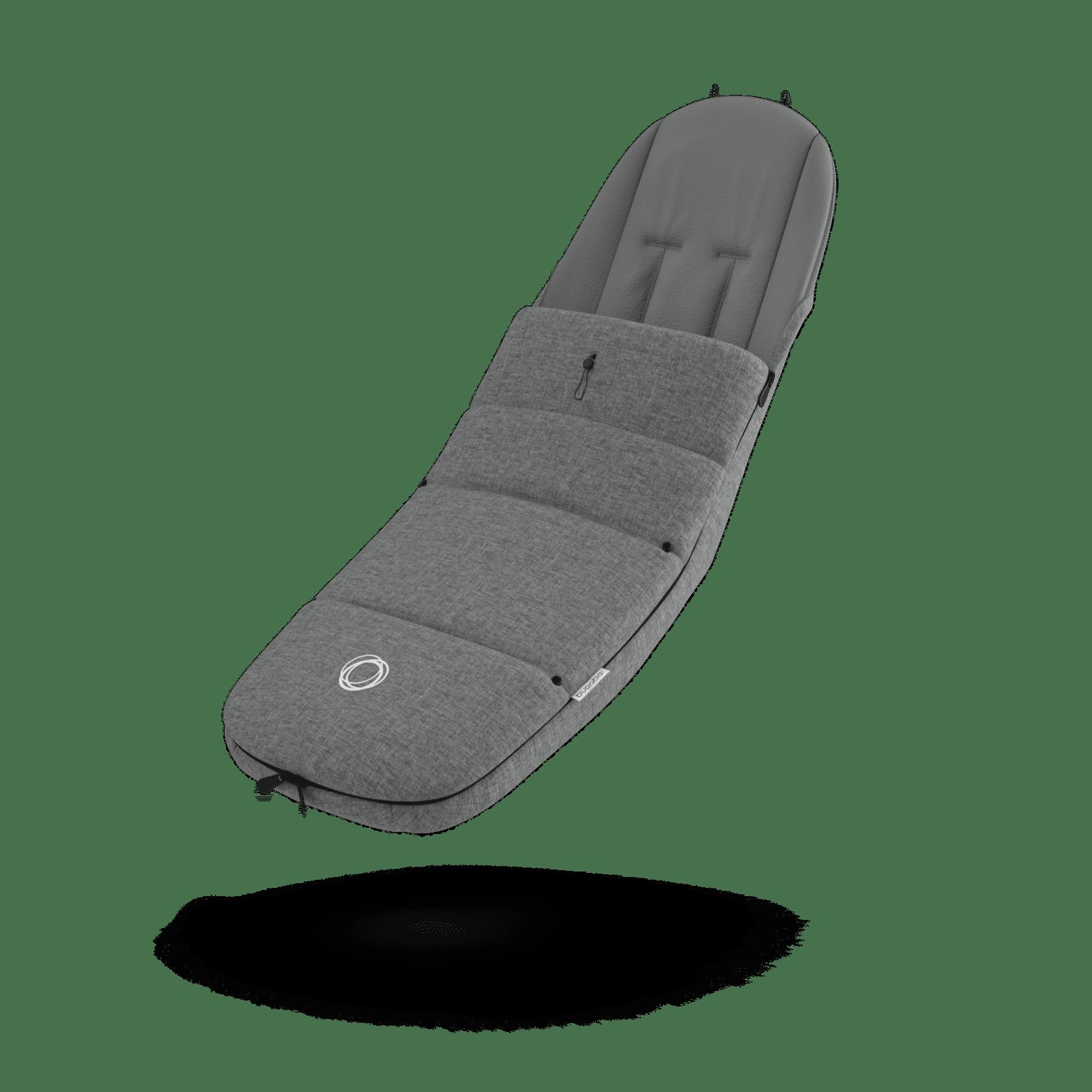 Bugaboo Grey Melange Footmuff