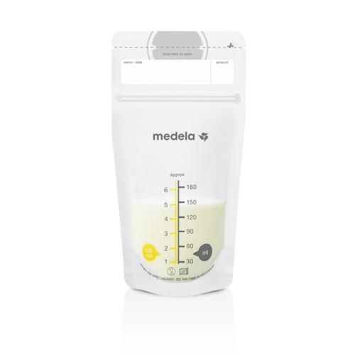 Medela Σακουλάκια Φύλαξης Μητρικού Γάλακτος (180 ml) Σετ 25 τμχ