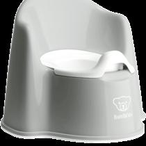 Babybjorn Potty Chair Grey White 055225 001 1