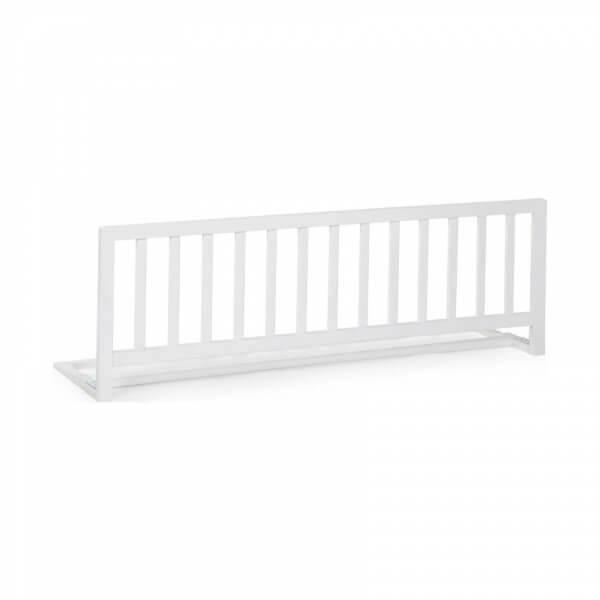 CHILDHOME Protective Wooden Rail White 120cm