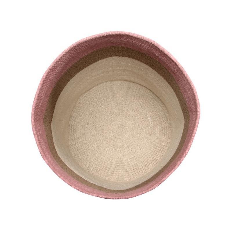 Basket Braided Cotton Bazaar Ash Rose 2