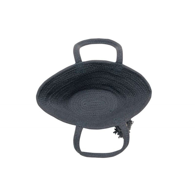 Basket Cistell Dark Grey Small 1