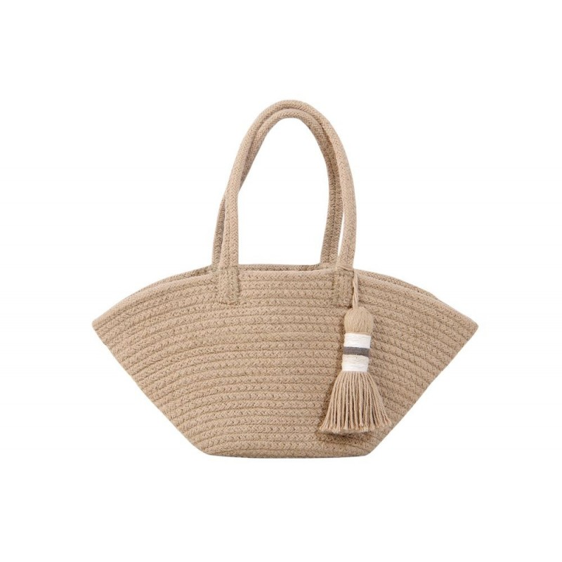 Lorena Canals. Καλάθι αποθήκευσης – τσάντα μίνι Cistell Linen 15Χ33Χ10