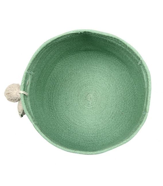 Cesta Leaf Verde 4