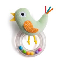 Cheeky Chick Bird Rattle
