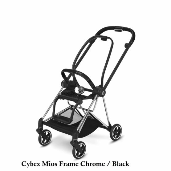 Cybex Mios Frame Chrome Black