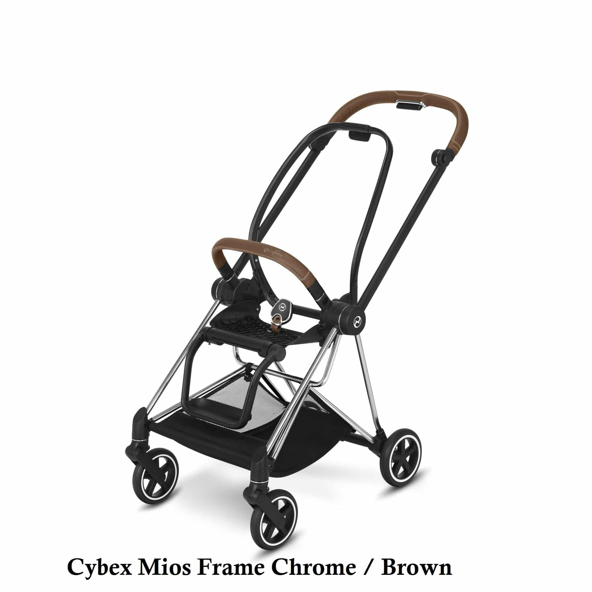 Cybex Mios Frame Chrome Brown