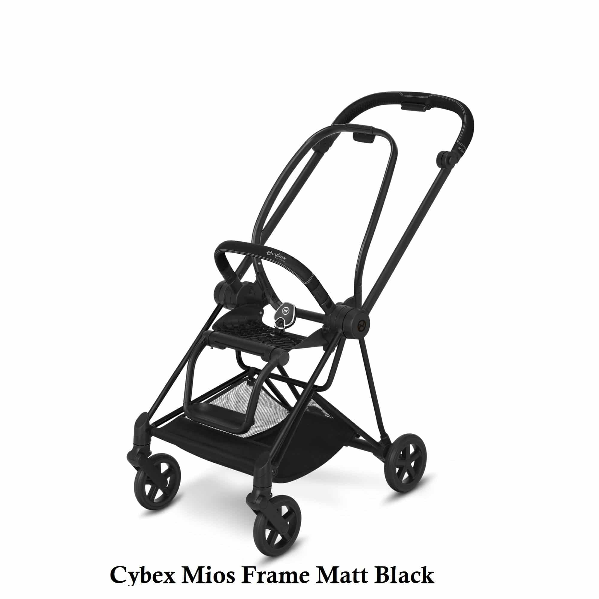Cybex Mios Frame Matt Black