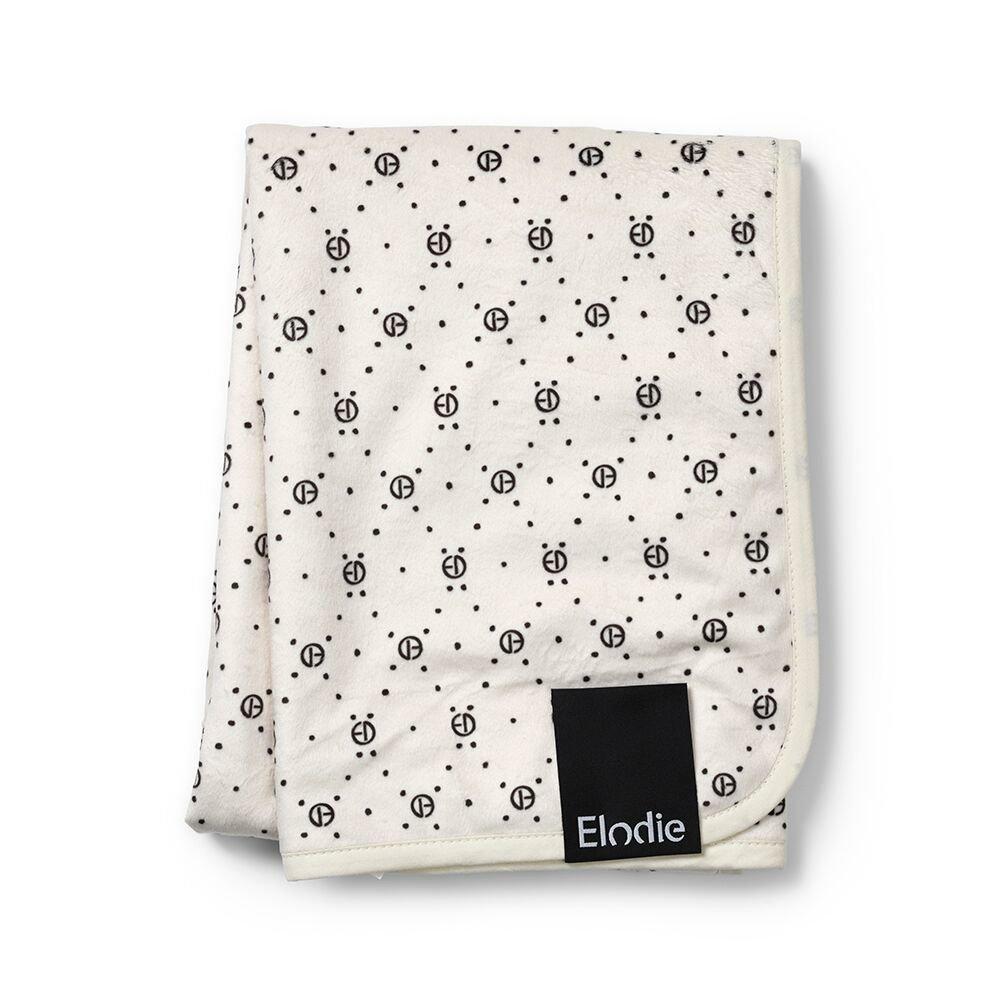 ELODIE DETAILS Κουβέρτα Elodie Details Pearl Velvet Monogram Print