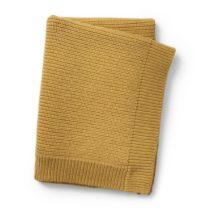 ELODIE DETAILS Κουβέρτα Elodie Details Wool Knitted Gold