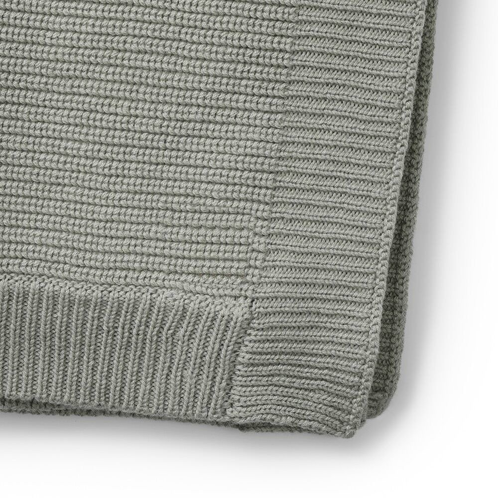 Eng Pl Elodie Details Wool Knitted Blanket Mineral Green 7202 3