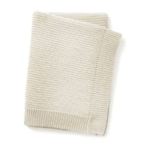 ELODIE DETAILS Κουβέρτα Elodie Details Wool Knitted Vanilla White