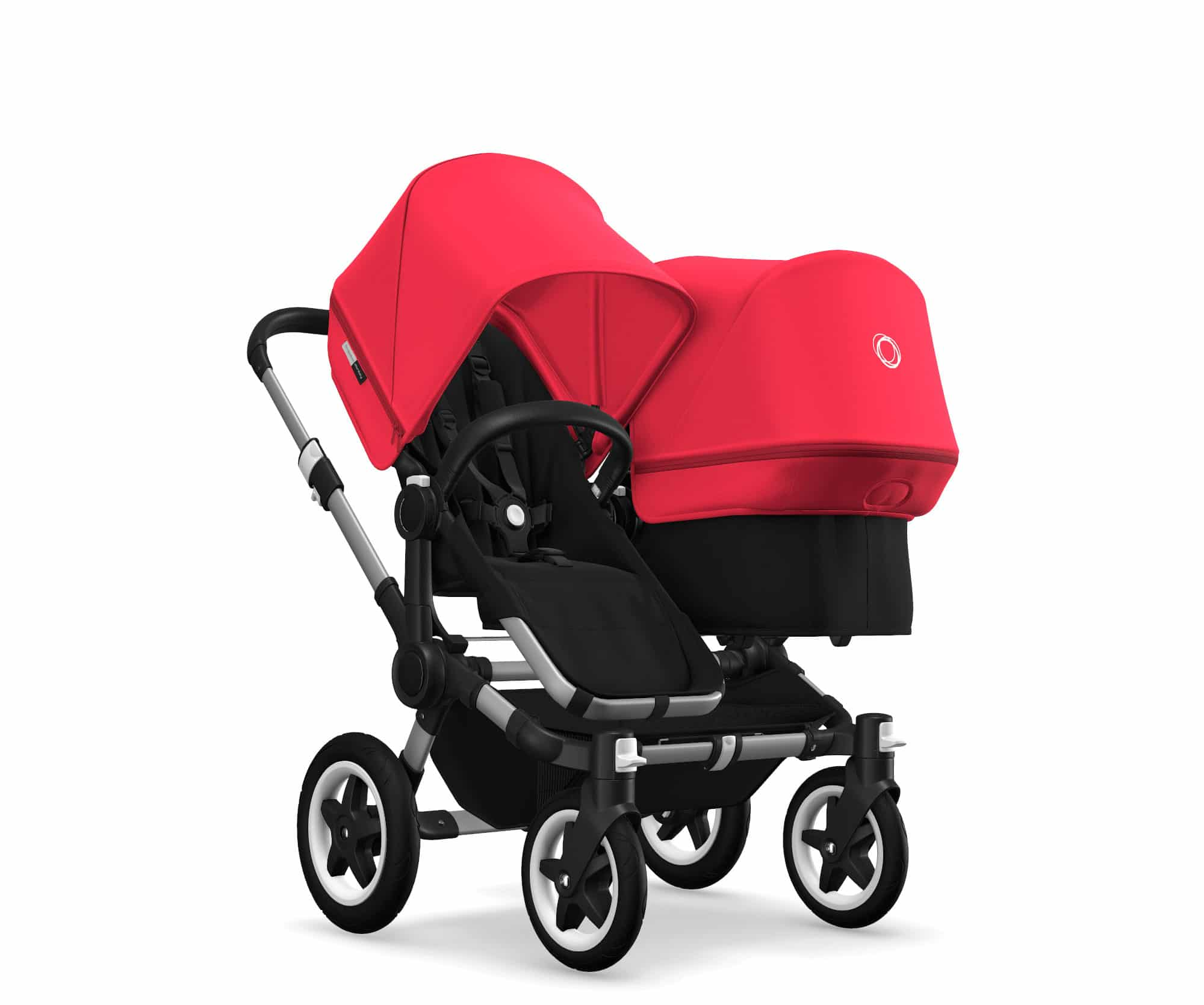 Bugaboo Cameleon 3rd 2nd Stroller Bassinet Apron Red Canvas Baby Carry Cot Cover