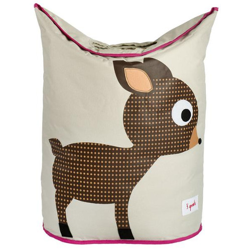 3 Sprouts Laundry Hamper Deer Basket For Laundry & amp; Toys