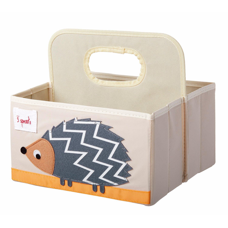 3 Sprouts Θήκη για πάνες & καλλυντικά Diaper Caddy Hedgehog
