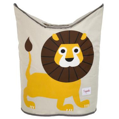 3 Sprouts Laundry Hamper Lion Basket For Laundry & amp; Toys